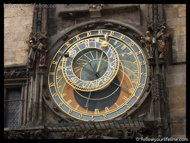 Astronomische Uhr, Prag, Neujahr