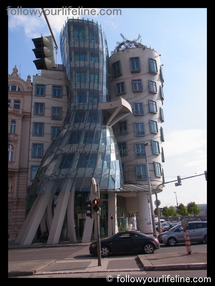 Tanzendes Haus, Ginger and Fred, Prag, Praha, Prague, Vlado Milunic, Frank Gehry,